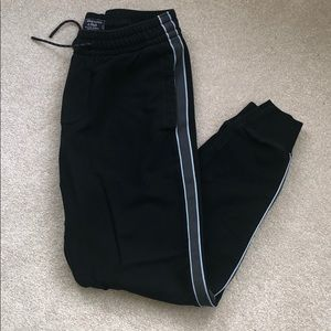 Abercrombie Black Sweatpants Joggers Size S Mens